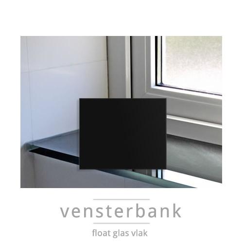 Vensterbank van Glas