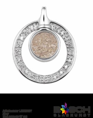 Assieraad 108SGL zilver