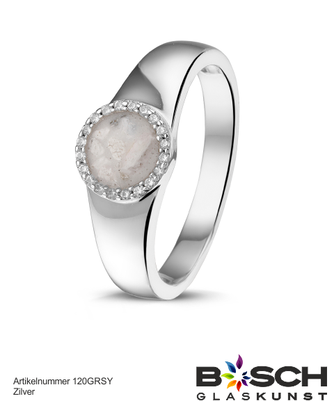 Assieraad RG021 Zilver