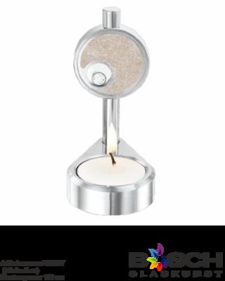 Aluminium kaars 110 A urn met zirkonia