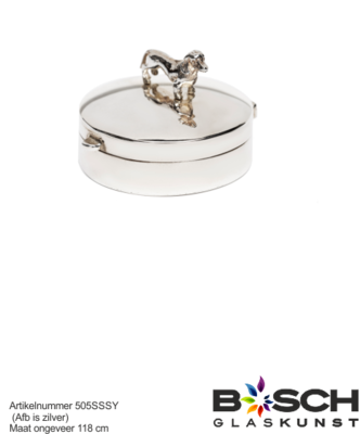 Zilver mini urn hond 505 SS
