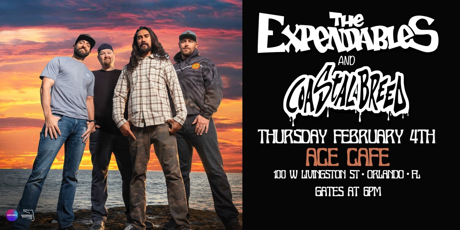The Expendables and Coastal Breed Live 2021
