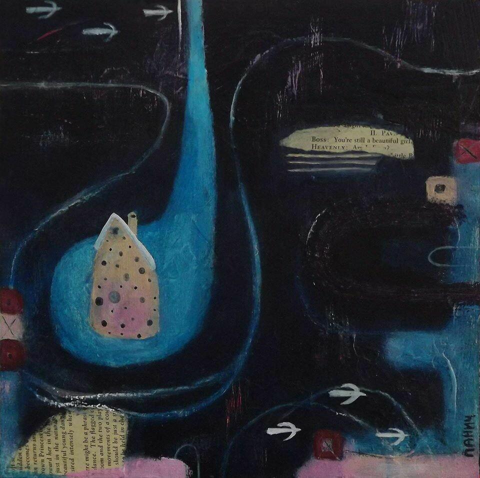 """""""Midnight"""",  original painting"""