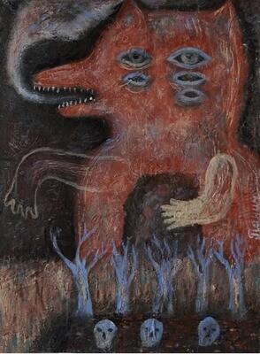 """""""Breath"""",  original painting"""