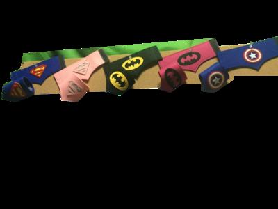 Superhero Gauntlets (single pair)