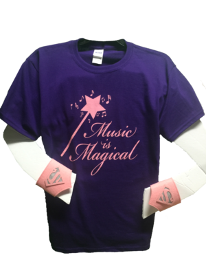 Music is Magical t-shirt (kids sizes)