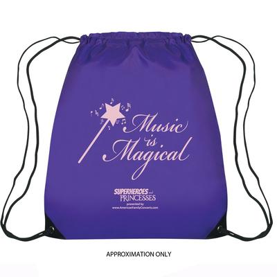 Drawstring Bag: Music is Magical