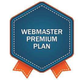Webmaster Premium Plan