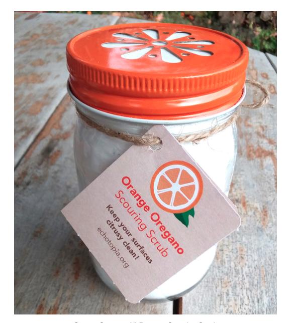 Orange Oregano All-Purpose Scouring Scrub
