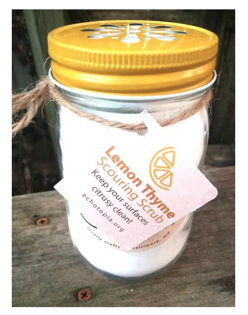 Lemon Thyme All-Purpose Scouring Scrub