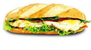 11. Sunny Side-Up 2 Egg Sandwich (Banh Mi Op La)