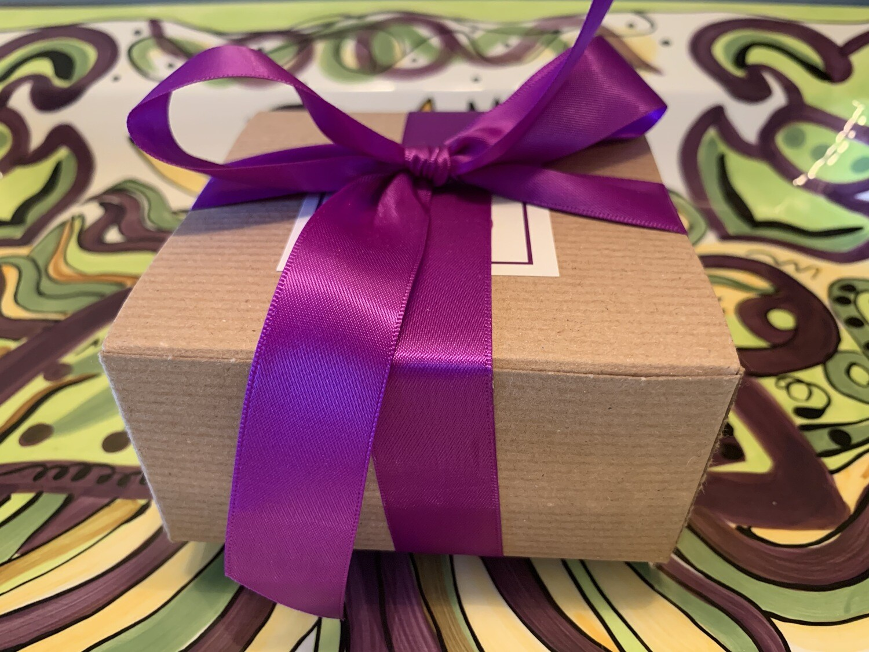 Favor box of 2 pralines