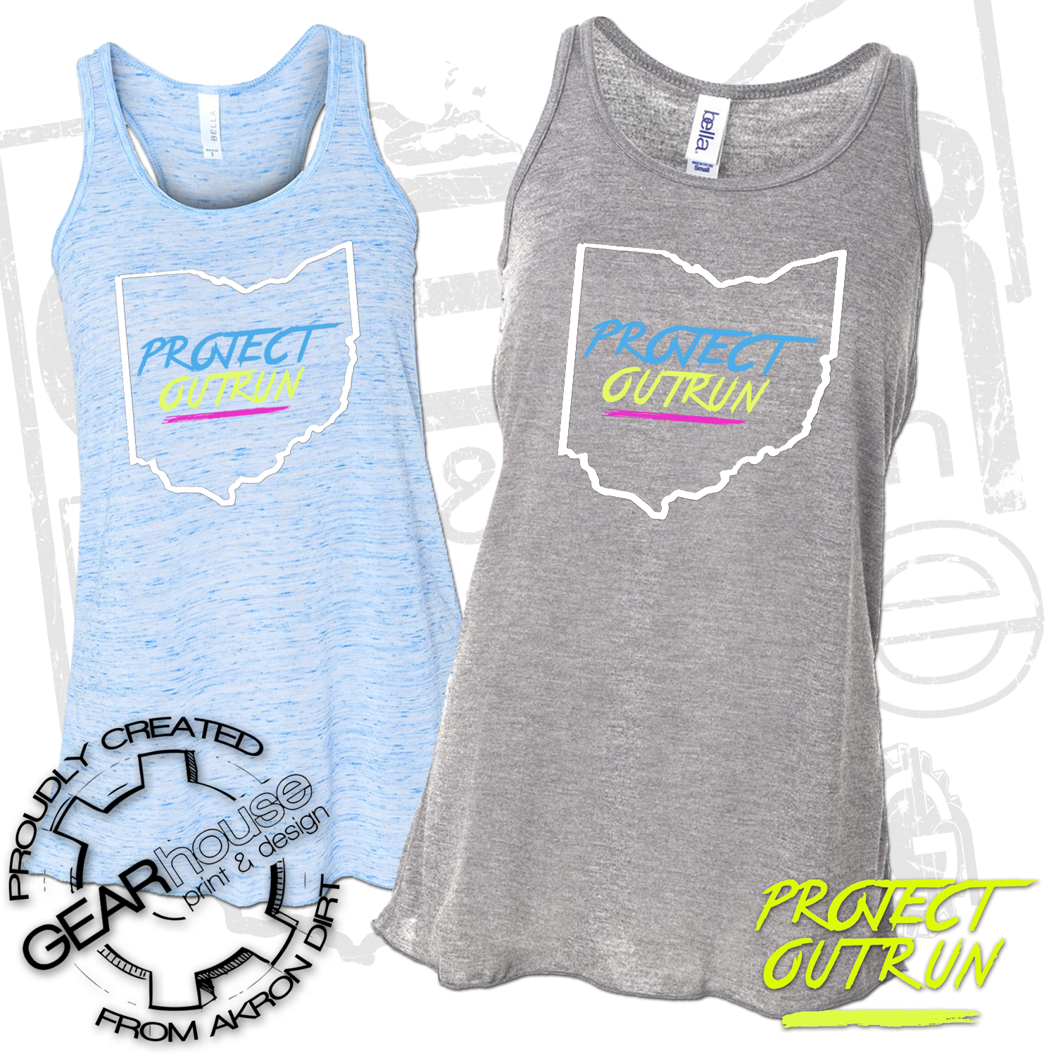 Project Outrun Women's Ohio Tank