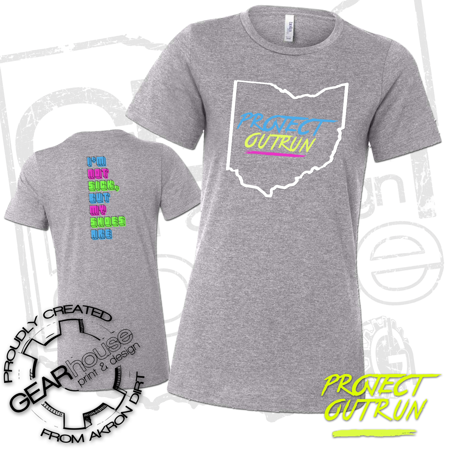 Project Outrun Women's Ohio Tee