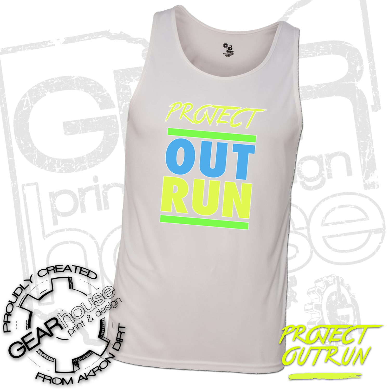 Project Outrun Men's Running Tank