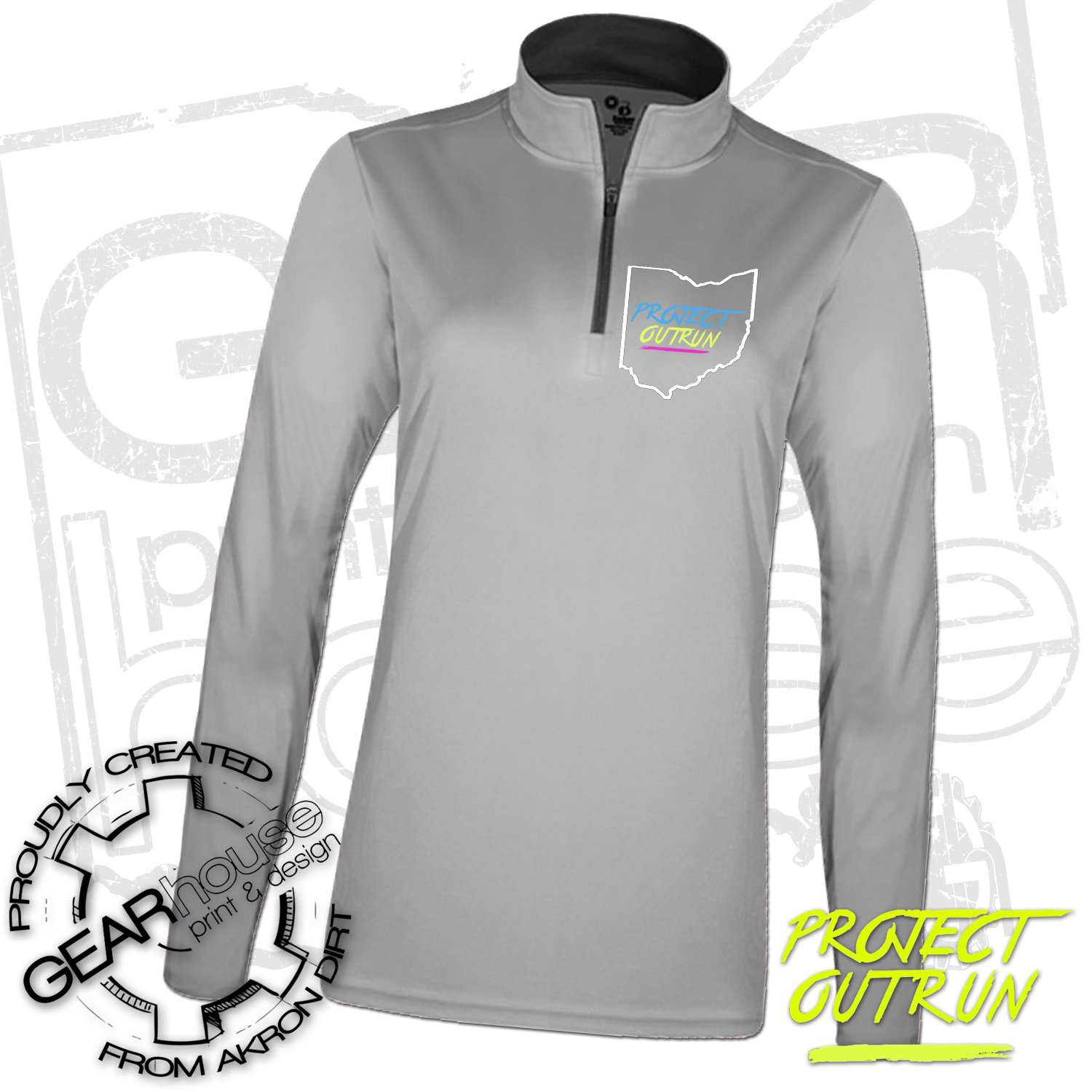 Project Outrun Women's Quarter Zip Pullover