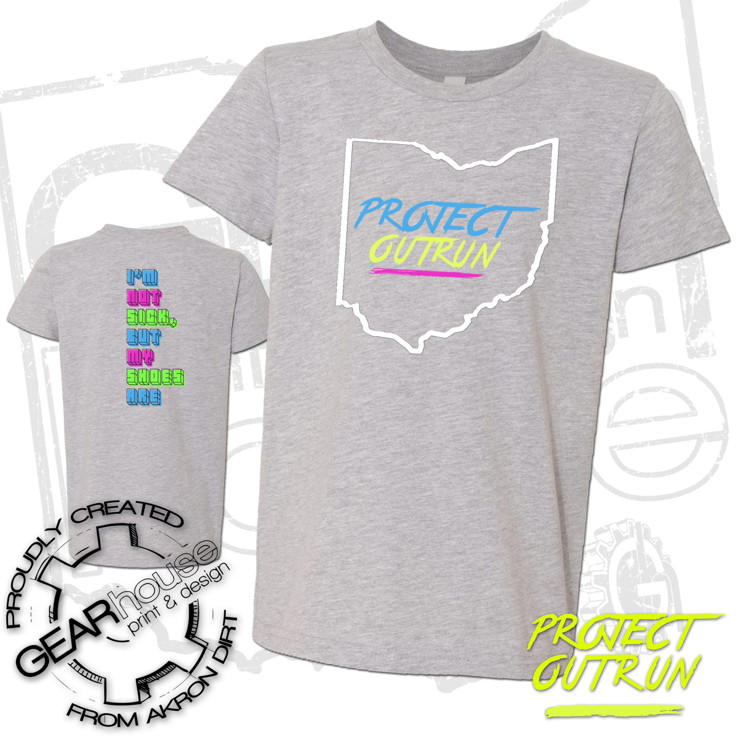Project Outrun Youth Ohio Tee