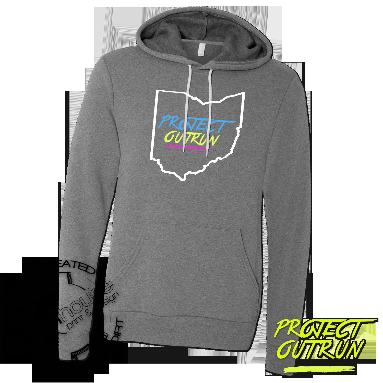 Project Outrun Unisex Ohio Soft Fleece Hoodie
