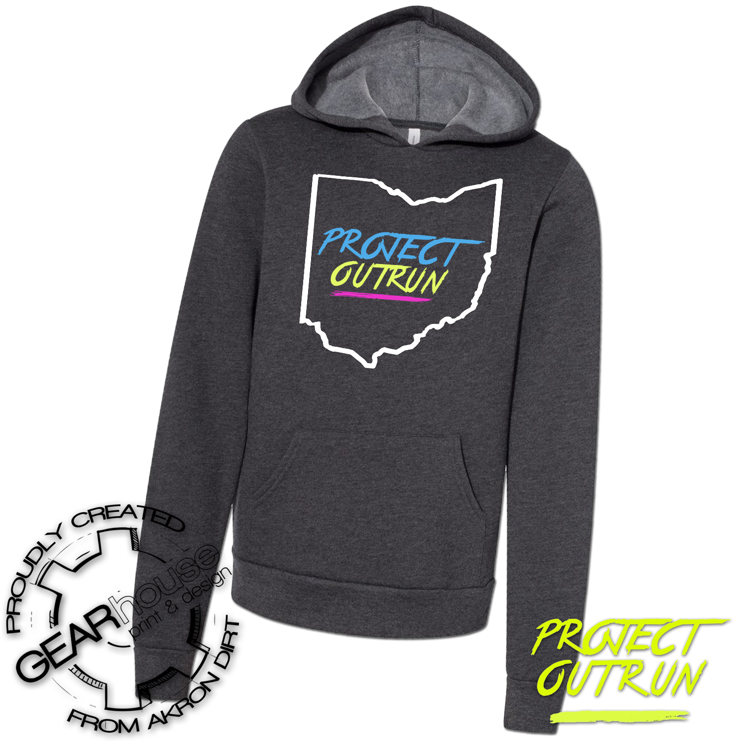 Project Outrun Youth Hoodie