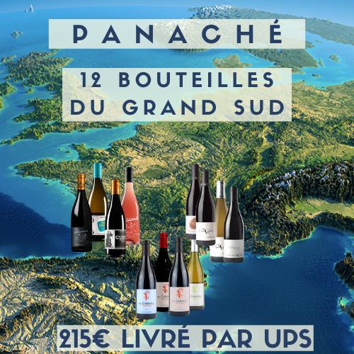 Caisse panachée du grand SUD  (215€), livrée en FRANCE