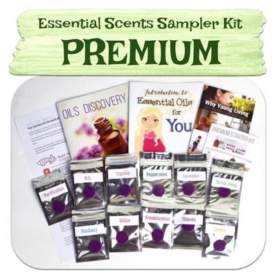Premium Essential Scent Sampler Kit
