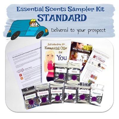 Standard Essential Scent Sampler Kit delivered to prospect