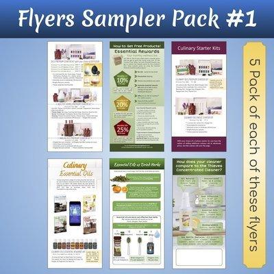DL Flyers Sampler Pack #1
