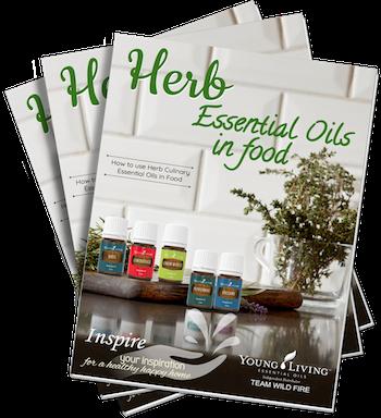 Herb essential oils in food
