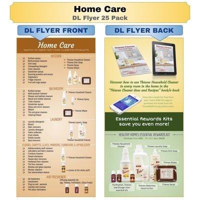 Home Care DL Flyer 25 Pack