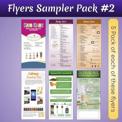 DL Flyers Sampler Pack #2