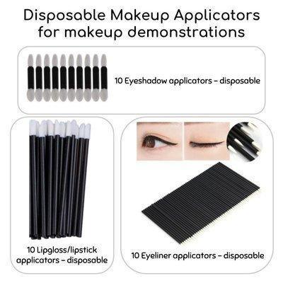 Makeup Disposable Applicators Kit for 10 guests