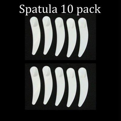 Cosmetic spatulas - for dispensing makeup or skincare creams