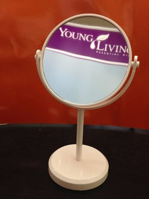 Mirror - Long Stand double sided with magnifier