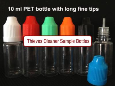Sample bottle - PET plastic - 10ml