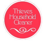 Thieves Household Cleaner Label