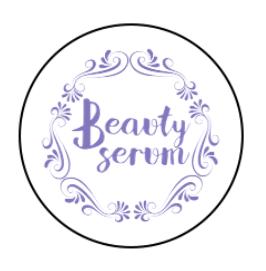 Beauty Serum Label