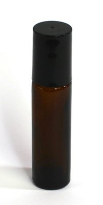 Rollerball bottle Thick glass (optional label) - 10ml