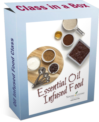 Oil Infused Food Class in a Box