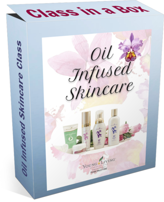 Oil Infused Skincare Class in a Box