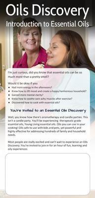 Oils Discovery Invitations 50pk