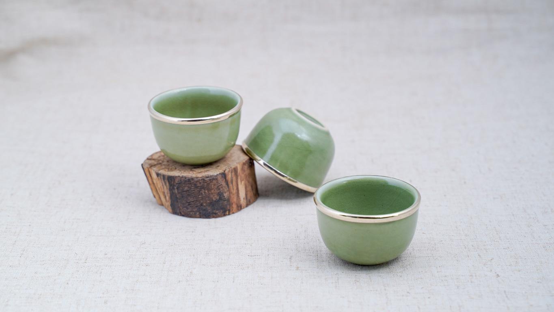 Light Green Teacup LV45TC