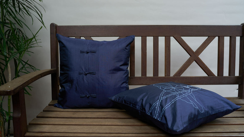 "Cushion Cover ""Lotus"""