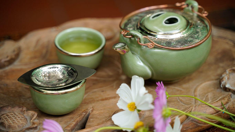 Light Green Teacup