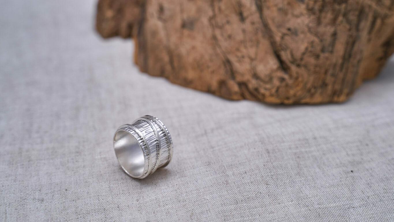 Bamboo Cylinder Ring RO38TS