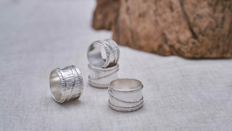 Bamboo Cylinder Ring