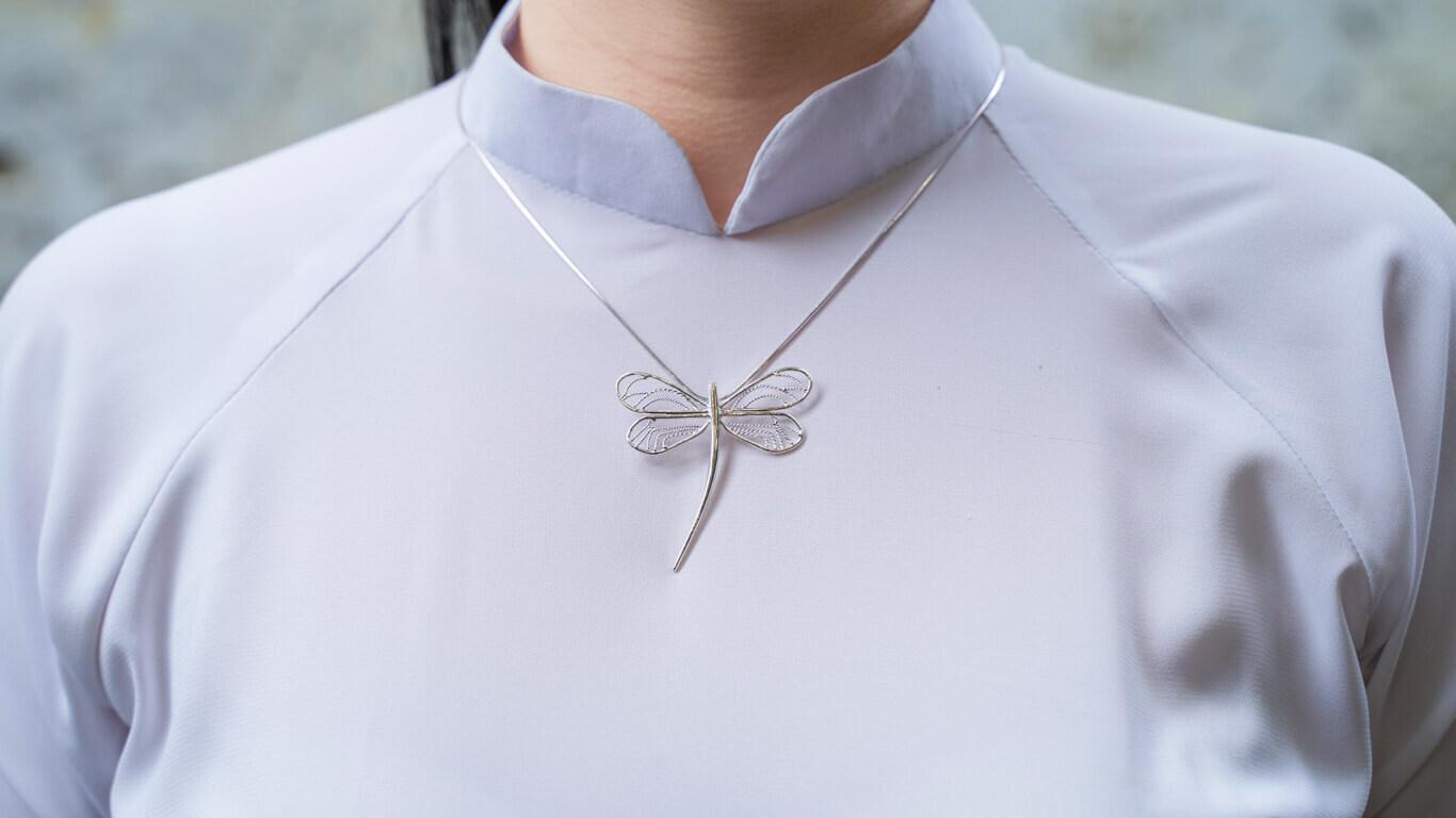 "Pendant ""Dragonfly"""