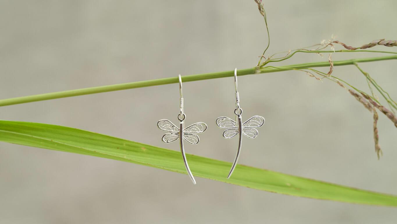 """Earrings """"Dragonfly"""""""