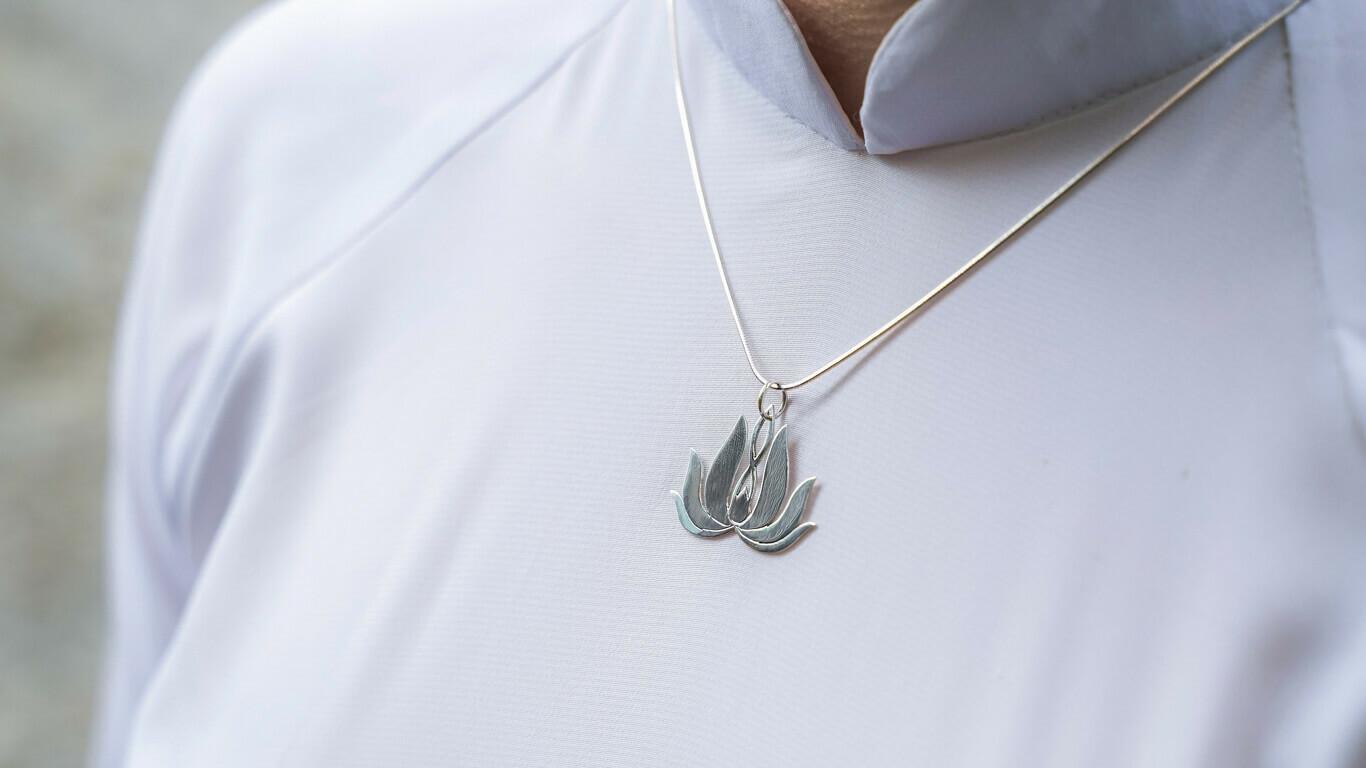 "Pendant ""Lotus Flower Spirit"""