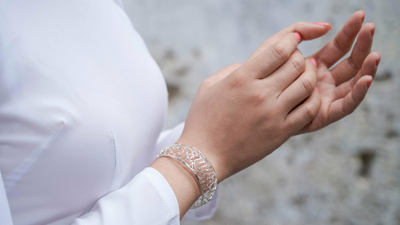 """Bracelet """"Honeycomb"""""""