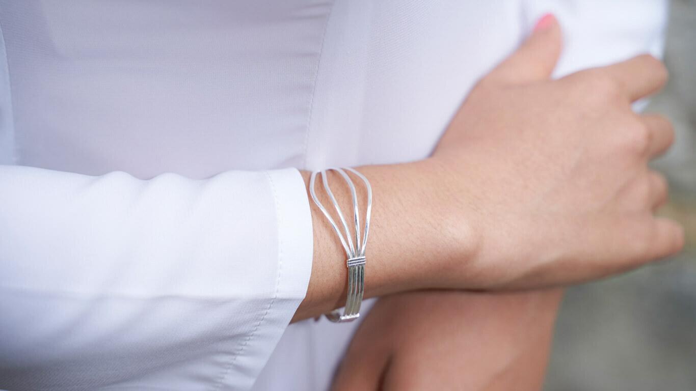 """Bracelet """"Silver Smile"""""""